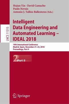 Intelligent Data Engineering and Automated Learning - IDEAL 2018