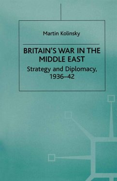 Britain's War in the Middle East (eBook, PDF) - Kolinsky, Martin