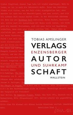 Verlagsautorschaft (eBook, PDF) - Amslinger, Tobias