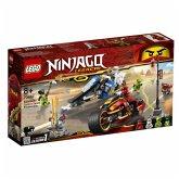 LEGO® NINJAGO 70667 Kais Feuer-Bike & Zanes Schneemobil