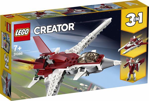 Lego Creator 31086 Flugzeug Der Zukunft Bei Bücherde Immer Portofrei