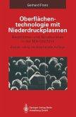 Oberflächentechnologie mit Niederdruckplasmen (eBook, PDF)
