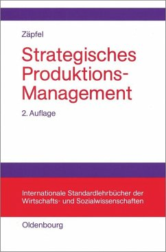 Strategisches Produktions-Management (eBook, PDF) - Zäpfel, Günther
