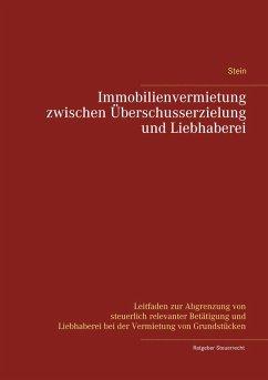 Immobilienvermietung zwischen Überschusserzielung und Liebhaberei (eBook, ePUB)
