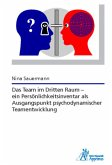 Das Team im Dritten Raum - ein Persönlichkeitsinventar als Ausgangspunkt psychodynamischer Teamentwicklung