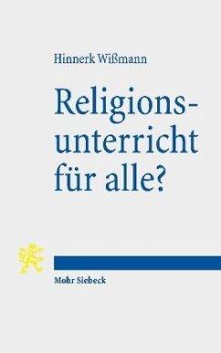Religionsunterricht für alle? - Wißmann, Hinnerk