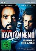 Jules Verne: Kapitän Nemo - 20 000 Meilen unter dem Meer. Der komplette Dreiteiler (2 Discs)