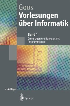 Vorlesungen uber Informatik (eBook, PDF) - Goos, Gerhard