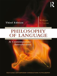 Philosophy of Language (eBook, ePUB) - Lycan, William G