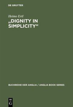 'Dignity in Simplicity' (eBook, PDF) - Ertl, Heimo