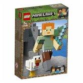 LEGO® Minecraft 21149 Minecraft-BigFig Alex mit Huhn