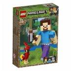 LEGO® Minecraft 21148 Minecraft-BigFig Steve mit Papagei