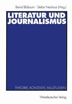 Literatur und Journalismus (eBook, PDF)