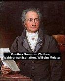 Goethes Romane: Werther, Wahlverwandschaften, Wilhelm Meister (eBook, ePUB)