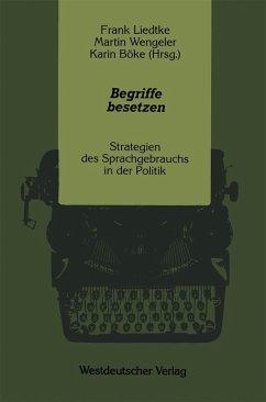 Begriffe besetzen (eBook, PDF)