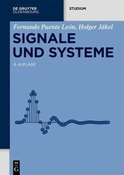 Signale und Systeme (eBook, PDF) - Puente León, Fernando; Jäkel, Holger