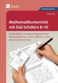 Mathematikunterricht mit DaZ-Schülern 8-10