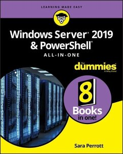 Windows Server 2019 & PowerShell All-in-One For Dummies - Perrott, Sara