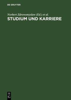 Studium und Karriere (eBook, PDF)