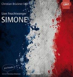 Simone, 1 MP3-CD - Feuchtwanger, Lion