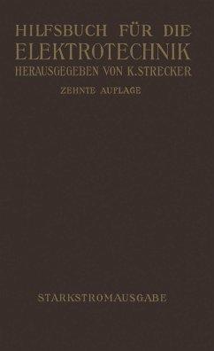 Hilfsbuch für die Elektrotechnik (eBook, PDF) - Strecker, Karl