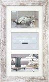 ZEP Nelson 6 weiß/braun 3x10x15 Holz Bilderrahmen 3Q V23106