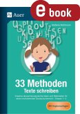 33 Methoden Texte schreiben (eBook, PDF)