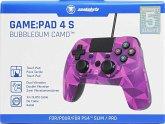 Snakebyte GAME:PAD 4 S, Controller für PS4, kabelgebunden, pink-camouflage