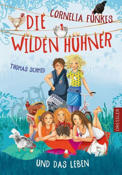 Buch-Reihe Die Wilden Hühner