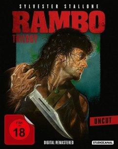 Rambo - Teil I - III Uncut Edition - Stallone,Sylvester/Crenna,Richard