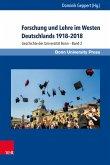 Forschung und Lehre im Westen Deutschlands 1918-2018 (eBook, PDF)