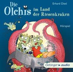 Die Olchis im Land der Riesenkraken / Die Olchis Erstleser Bd.3 (1 Audio-CD) - Dietl, Erhard
