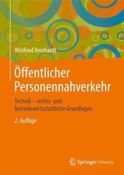 Öffentlicher Personennahverkehr - Reinhardt, Winfried
