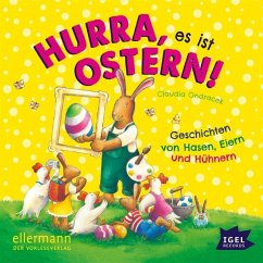Hurra, es ist Ostern!, 1 Audio-CD - Ondracek, Claudia