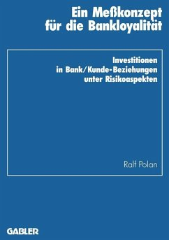 Ein Mekonzept fur die Bankloyalitat (eBook, PDF) - Polan, Ralf
