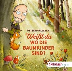 Weißt du, wo die Baumkinder sind?, 1 Audio-CD - Wohlleben, Peter