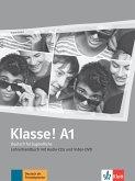 Klasse! A1. Lehrerhandbuch mit 4 Audio-CDs und 1 Video-DVD