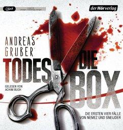 Die Todes-Box. Die ersten vier Fälle von Nemez und Sneijder, 5 MP3-CD - Gruber, Andreas