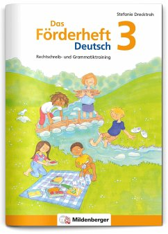 Das Förderheft Deutsch 3 - Drecktrah, Stefanie