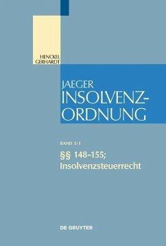 §§ 148-155; Insolvenzsteuerrecht