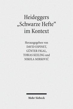 Heideggers 'Schwarze Hefte' im Kontext (eBook, PDF)