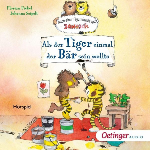 Sonstige Spielzeug-Artikel CD Fickel Janosch Tiger Bär sein wollte