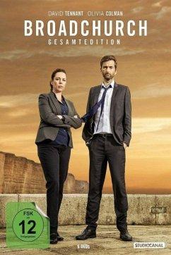 Broadchurch - Staffel 1-3 - Gesamtedition (9 Discs) - Tennant,David/Colman,Olivia