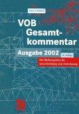 VOB Vergabe- und Vertragsordnung für Bauleistungen - Gesamtkommentar (eBook, PDF)