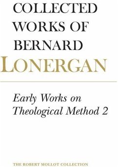 Early Works on Theological Method 2 (eBook, PDF) - Lonergan, Bernard