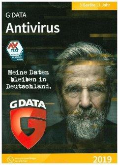 GD AntiVirus 2019 3 PC, 1 CD-ROM