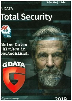GD Total Security 2019 3 PC, 1 CD-ROM