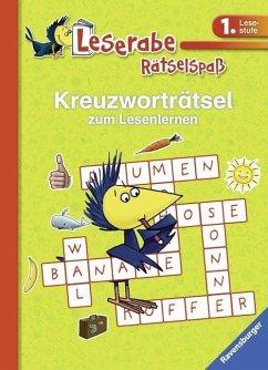 Kreuzworträtsel zum Lesenlernen (1. Lesestufe),...