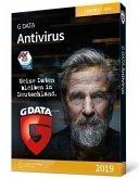 GD AntiVirus 2019 1 PC, 1 CD-ROM