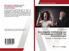 Konvergente Validierung von Vermeidungsverhalten bei Angststörungen
